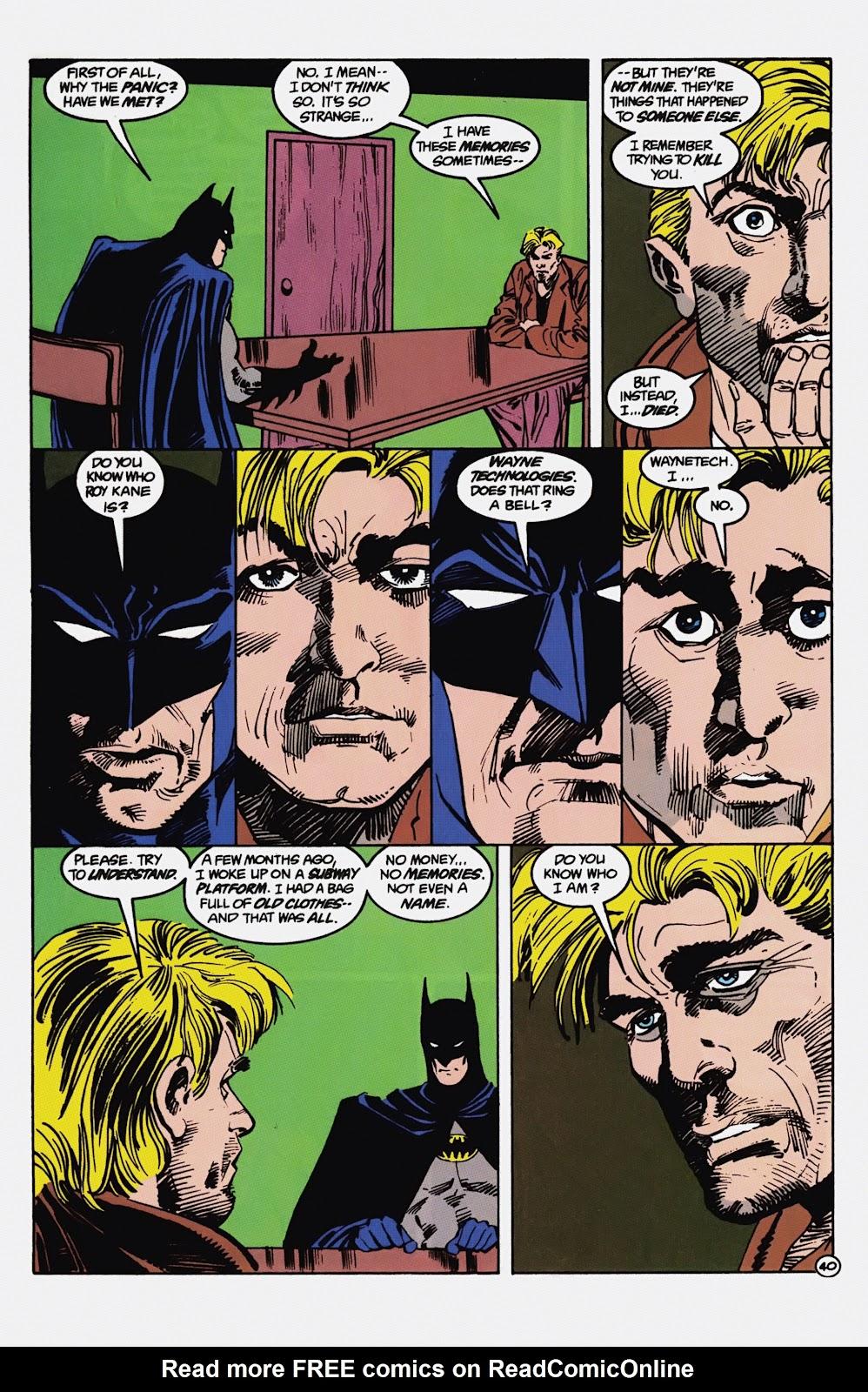 Read online Detective Comics (1937) comic -  Issue # _TPB Batman - Blind Justice (Part 1) - 45