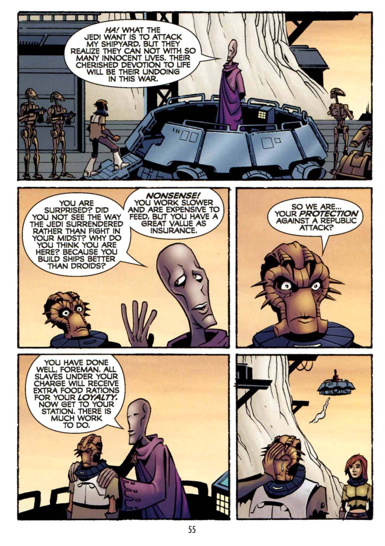 Read online Star Wars: The Clone Wars - Shipyards of Doom comic -  Issue # Full - 53