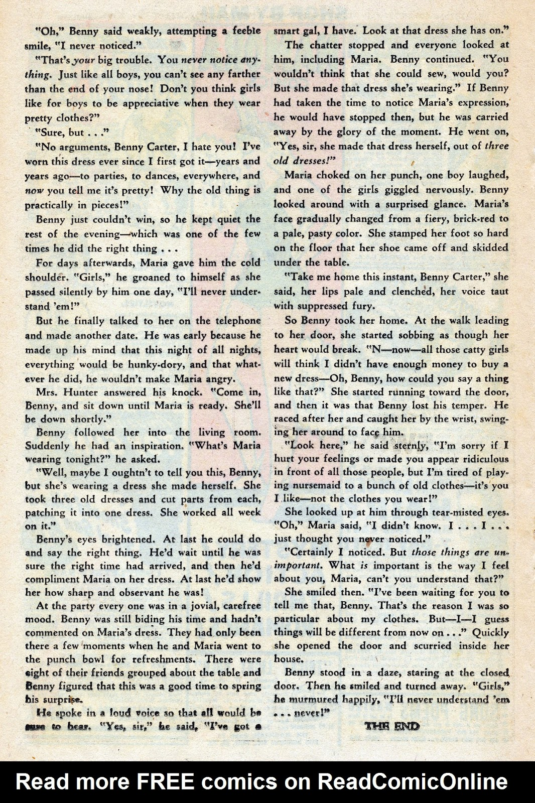 Read online Nellie The Nurse (1945) comic -  Issue #14 - 30