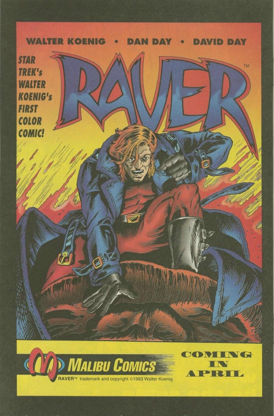 Read online Ex-Mutants comic -  Issue #7 - 21