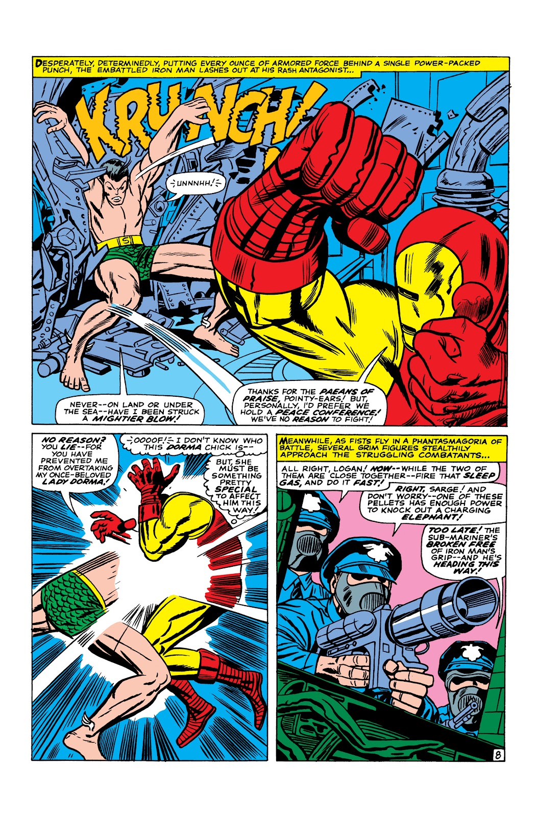 Read online Marvel Masterworks: The Invincible Iron Man comic -  Issue # TPB 3 (Part 5) - 25