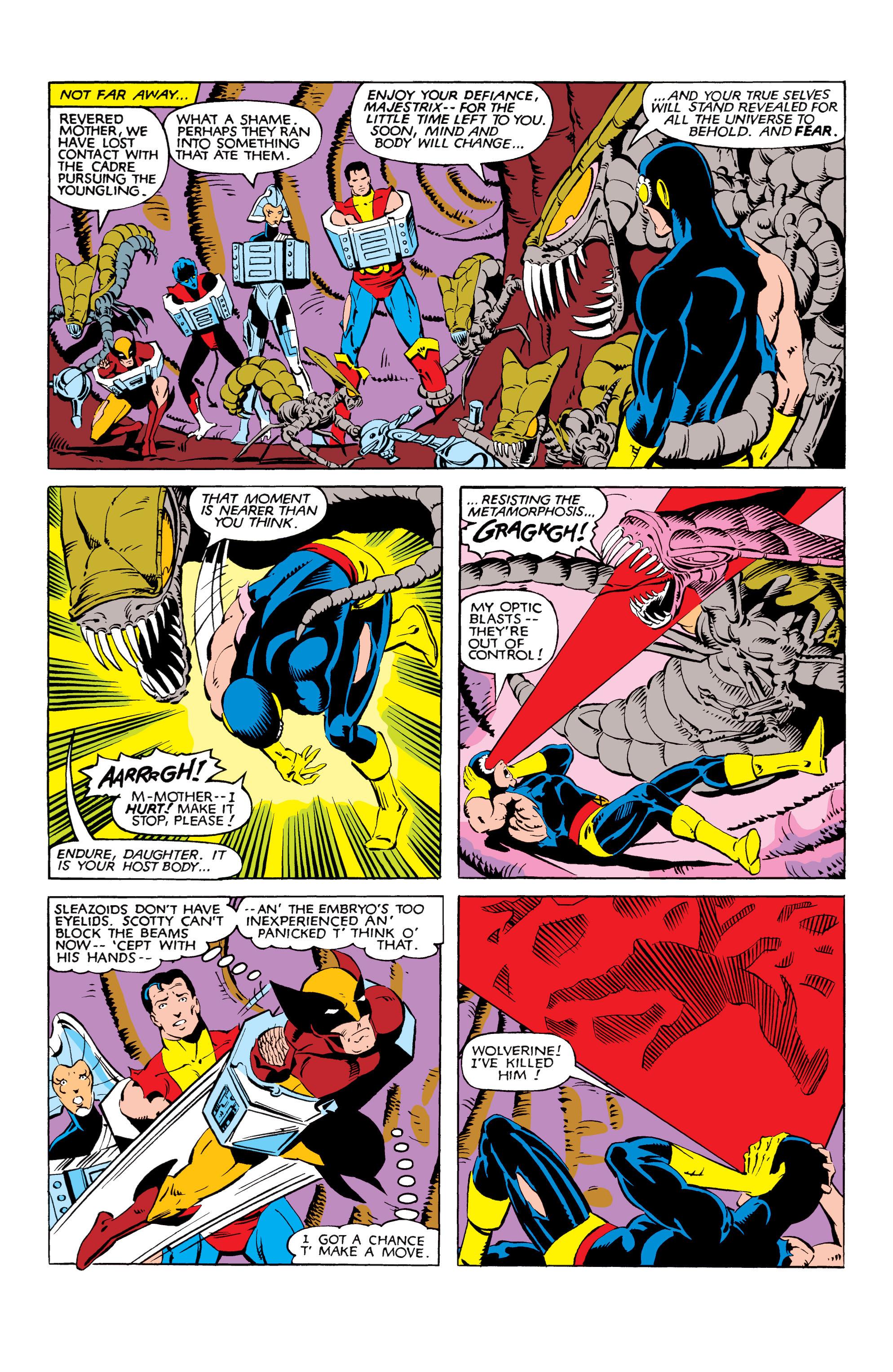 Read online Uncanny X-Men (1963) comic -  Issue #166 - 29