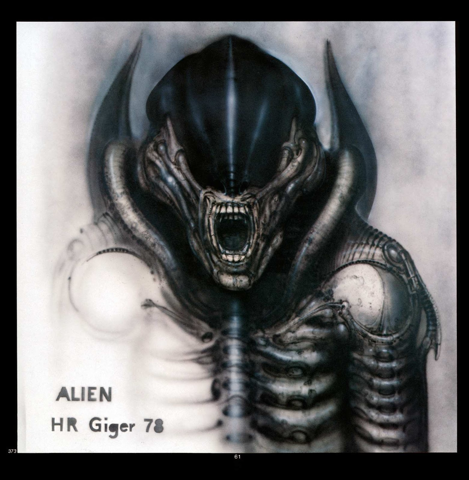 Read online Giger's Alien comic -  Issue # TPB - 63