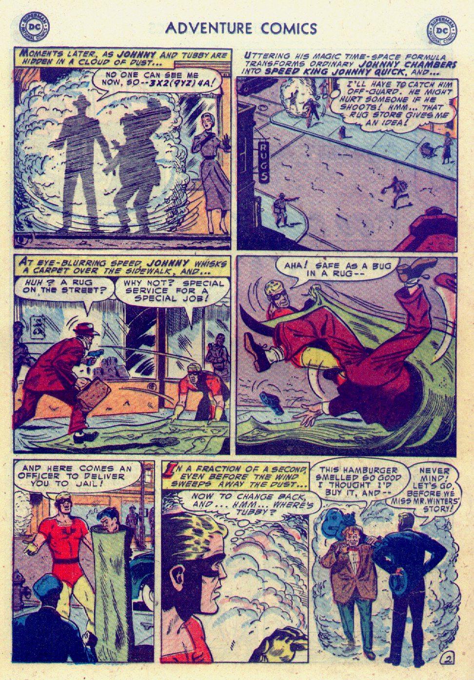 Read online Adventure Comics (1938) comic -  Issue #201 - 26