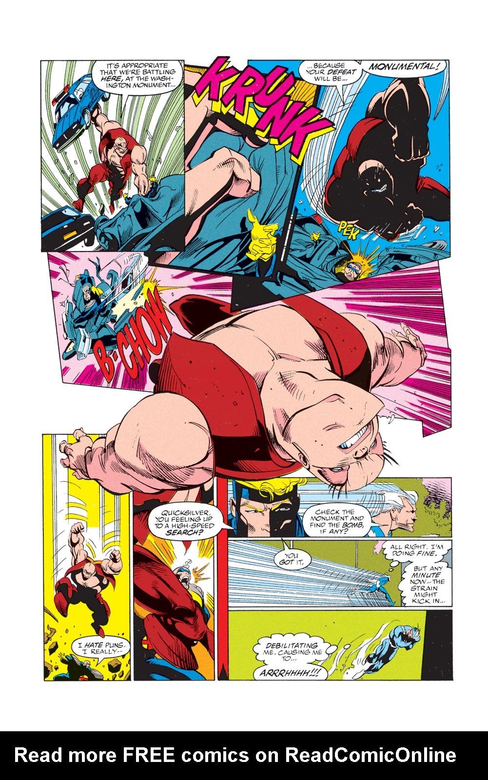 Read online X-Factor (1986) comic -  Issue #74 - 16