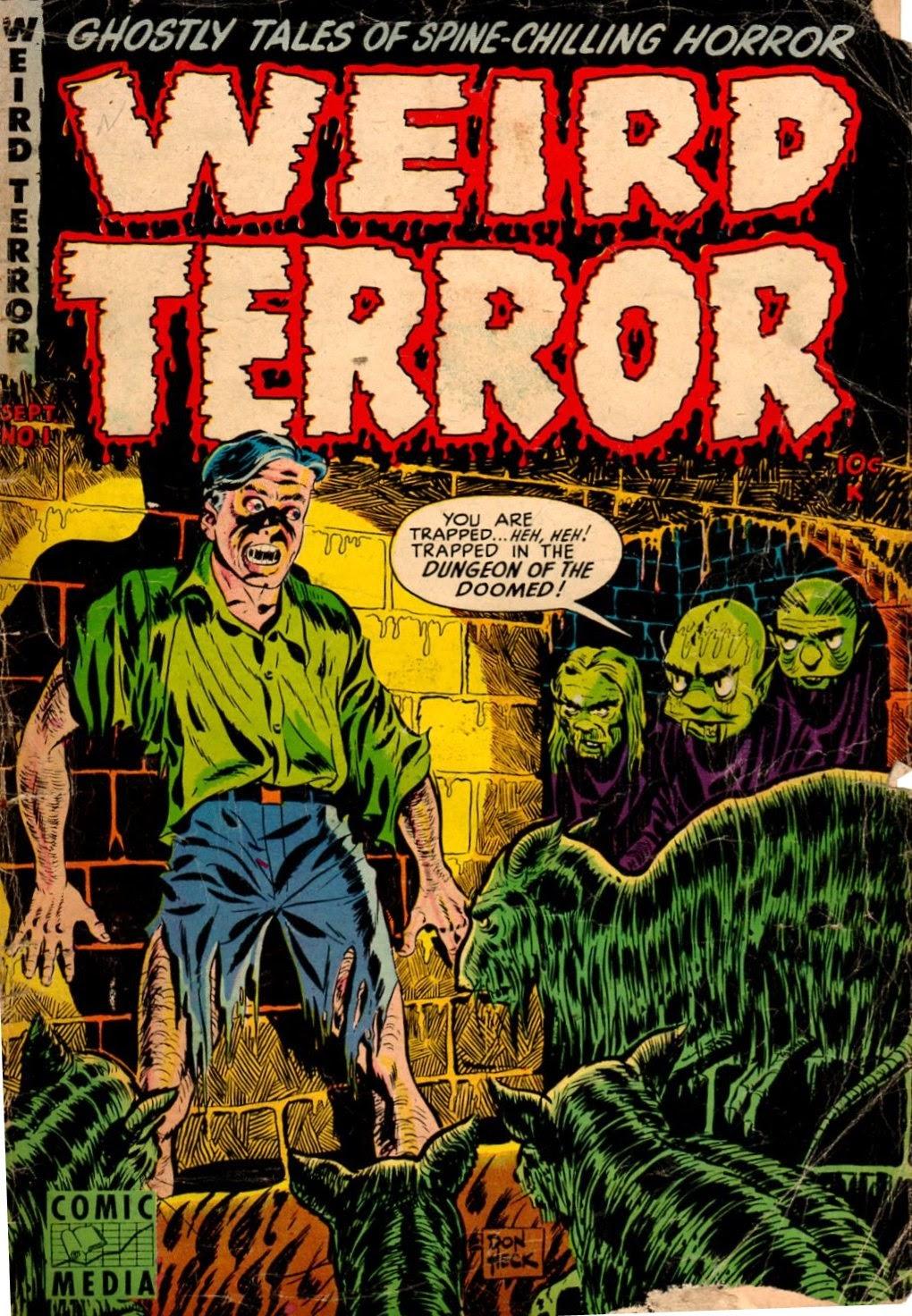 Weird Terror issue 1 - Page 1