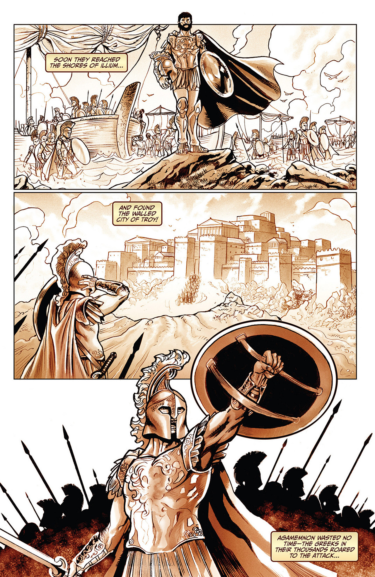 Read online Athena comic -  Issue #3 - 17