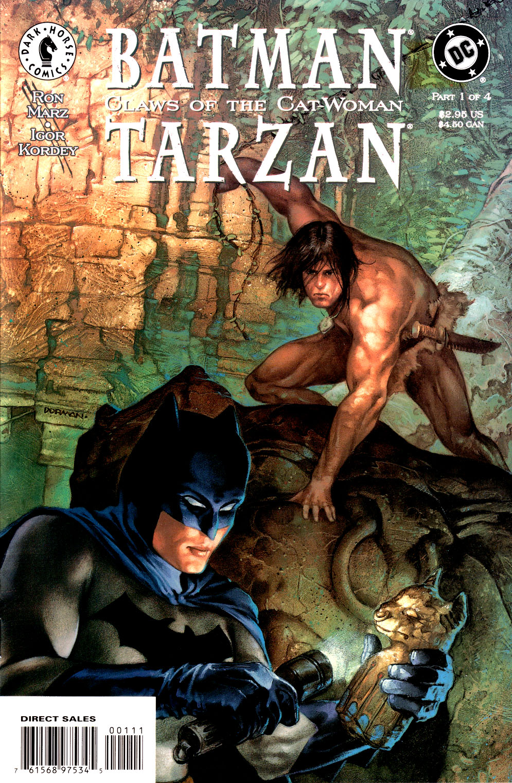 Batman/Tarzan: Claws of the Cat-Woman 1 Page 1
