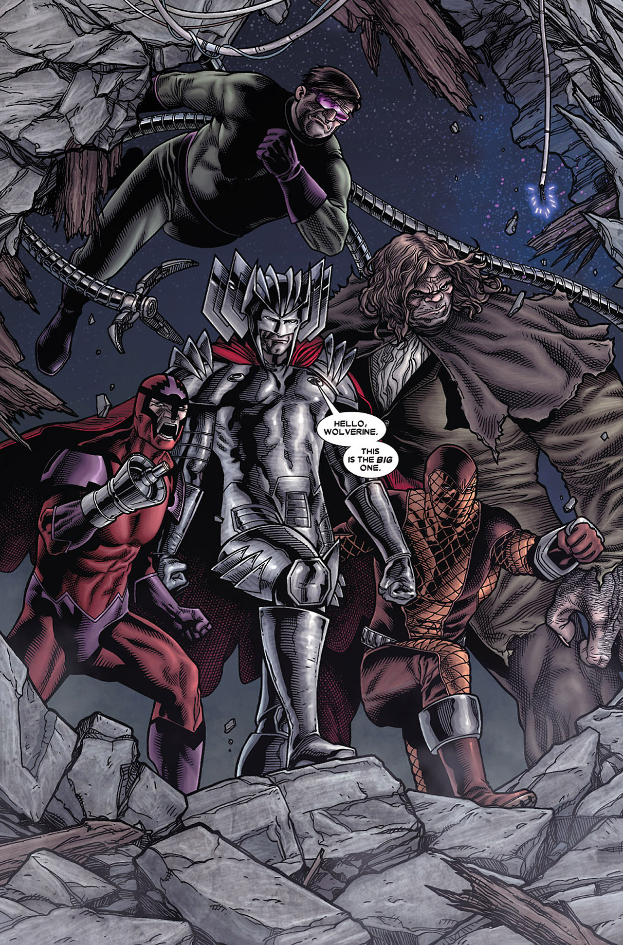 Read online Wolverine: Old Man Logan comic -  Issue # Full - 96