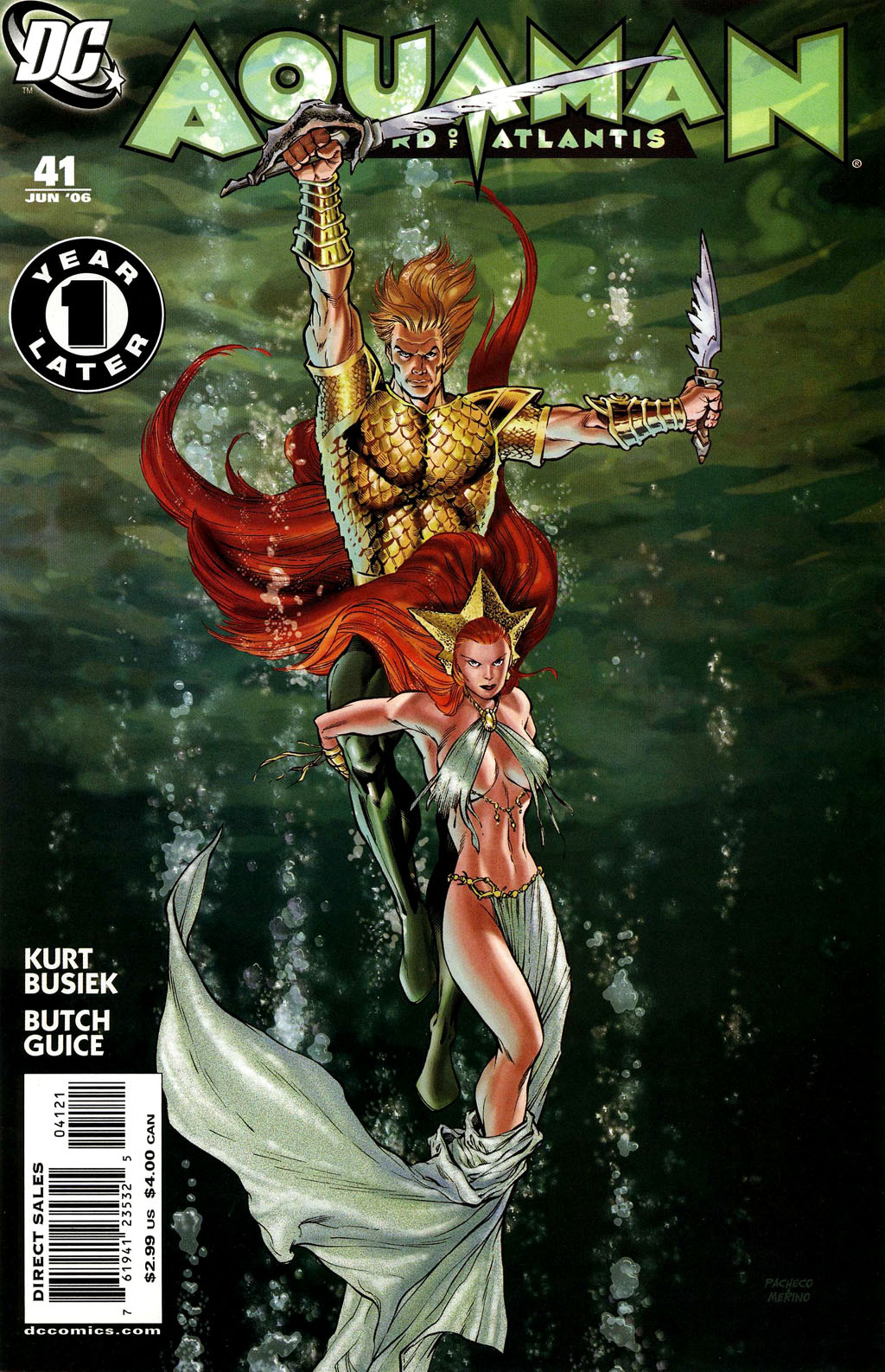 Read online Aquaman: Sword of Atlantis comic -  Issue #41 - 1