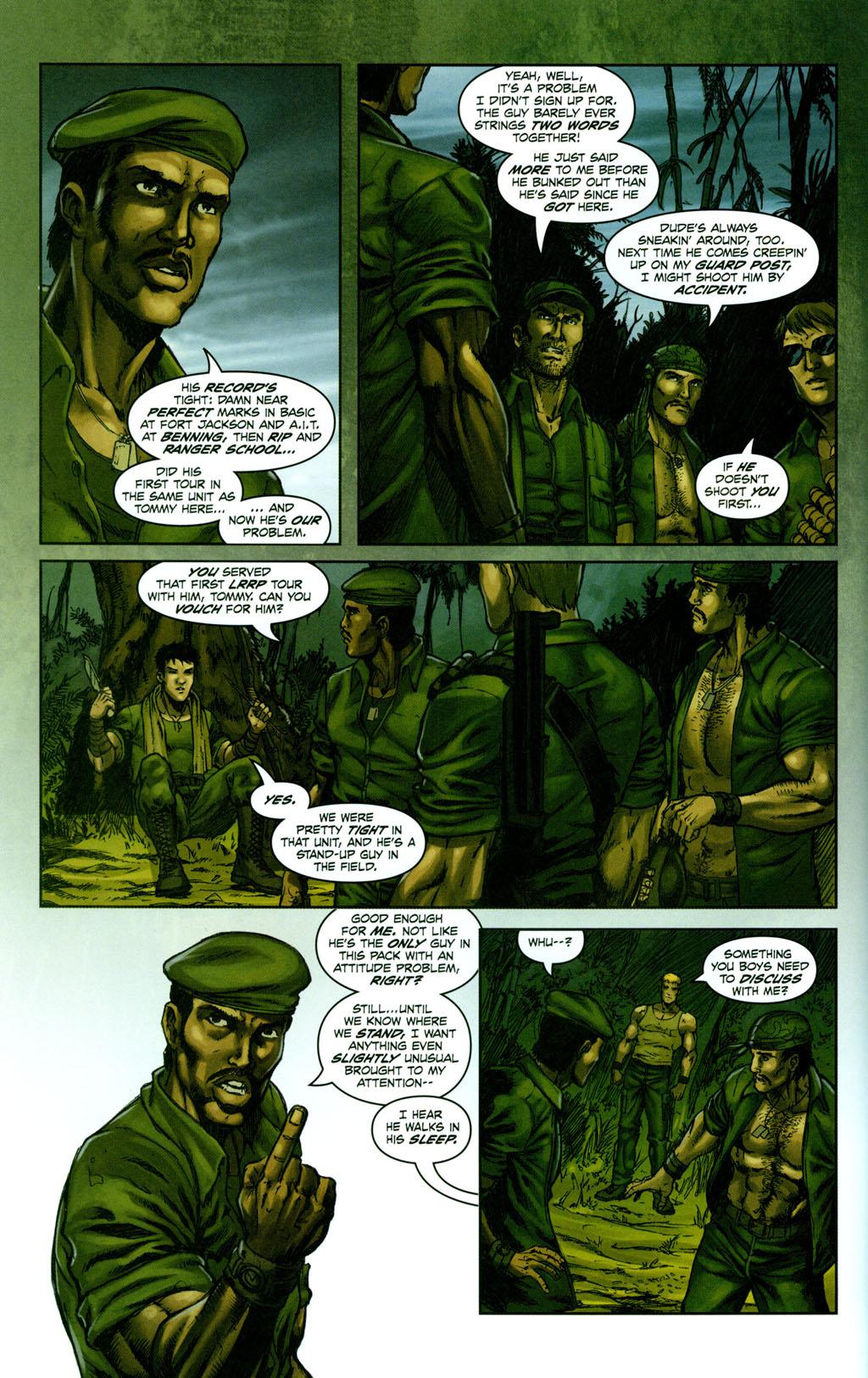 Read online Snake Eyes: Declassified comic -  Issue #1 - 10