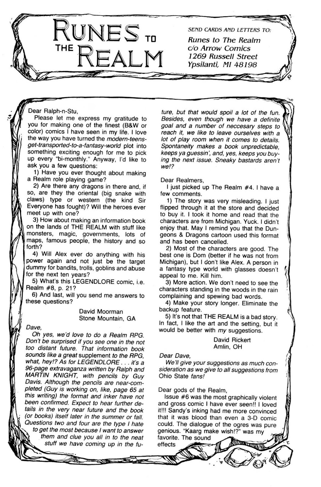 The Realm (1986) issue 9 - Page 33
