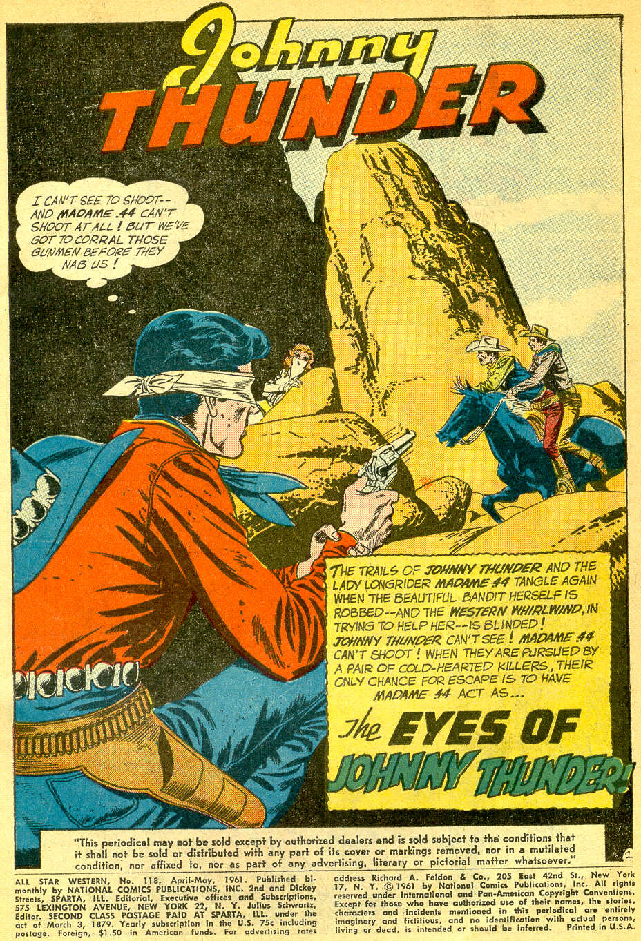 Read online All-Star Western (1951) comic -  Issue #118 - 3