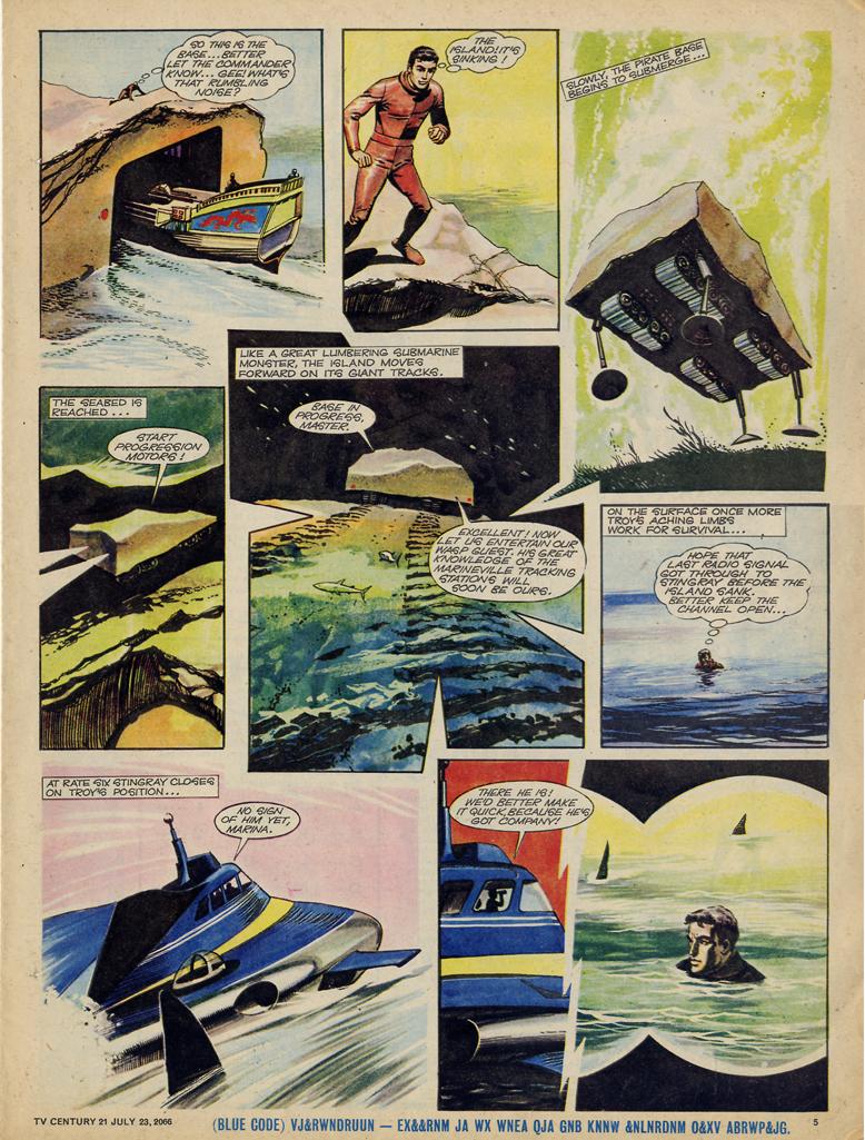 Read online TV Century 21 (TV 21) comic -  Issue #79 - 5