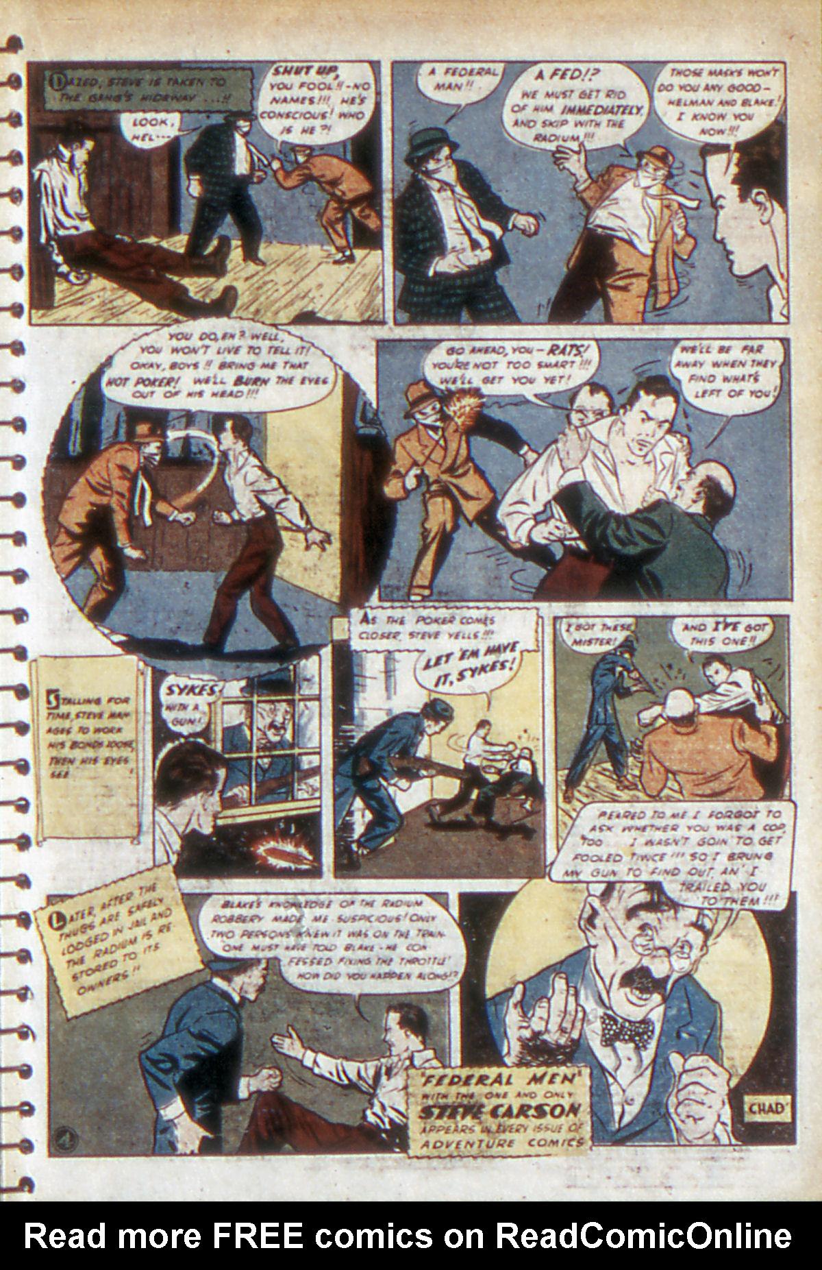Read online Adventure Comics (1938) comic -  Issue #53 - 32