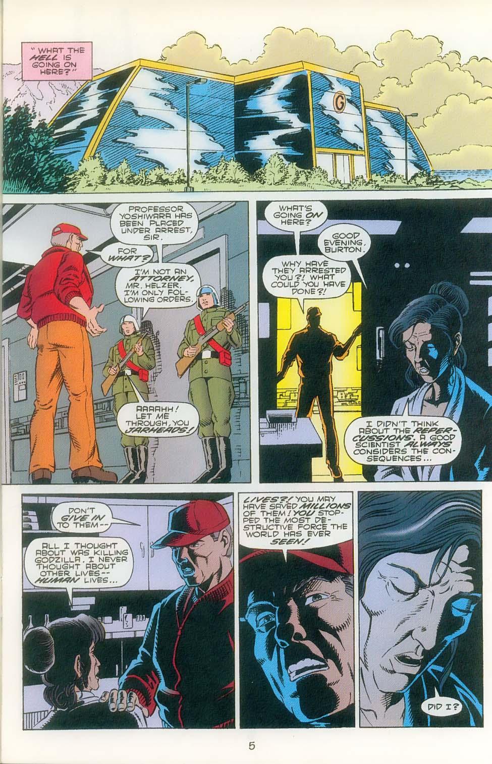 Godzilla (1995) Issue #3 #4 - English 7