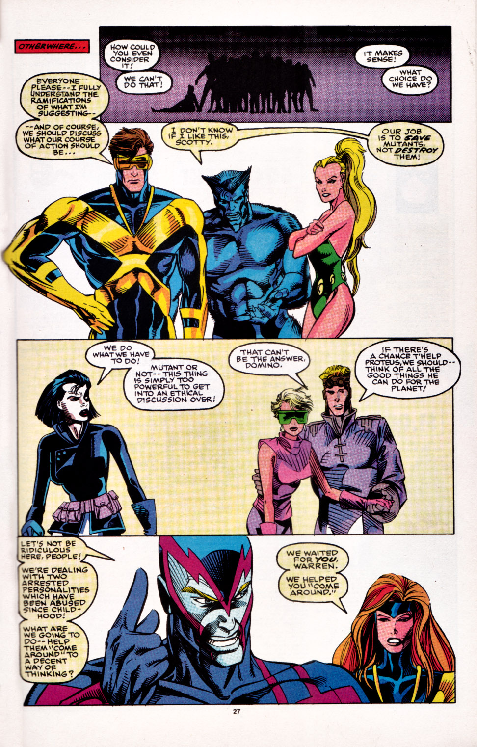 Read online X-Factor (1986) comic -  Issue # _ Annual 6 - 24