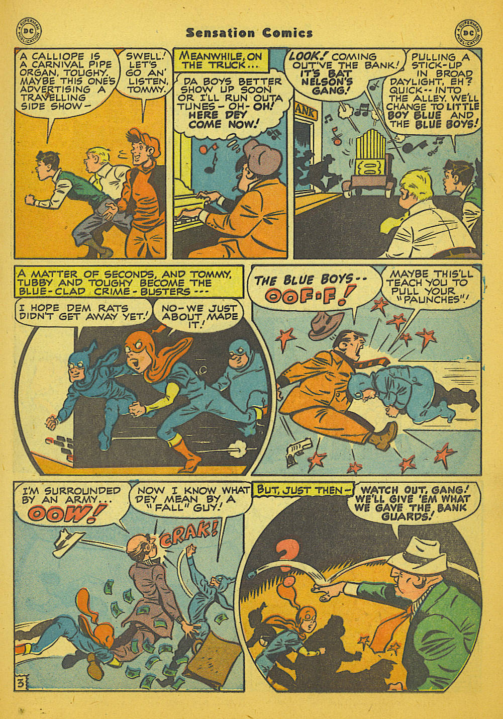 Read online Sensation (Mystery) Comics comic -  Issue #66 - 19