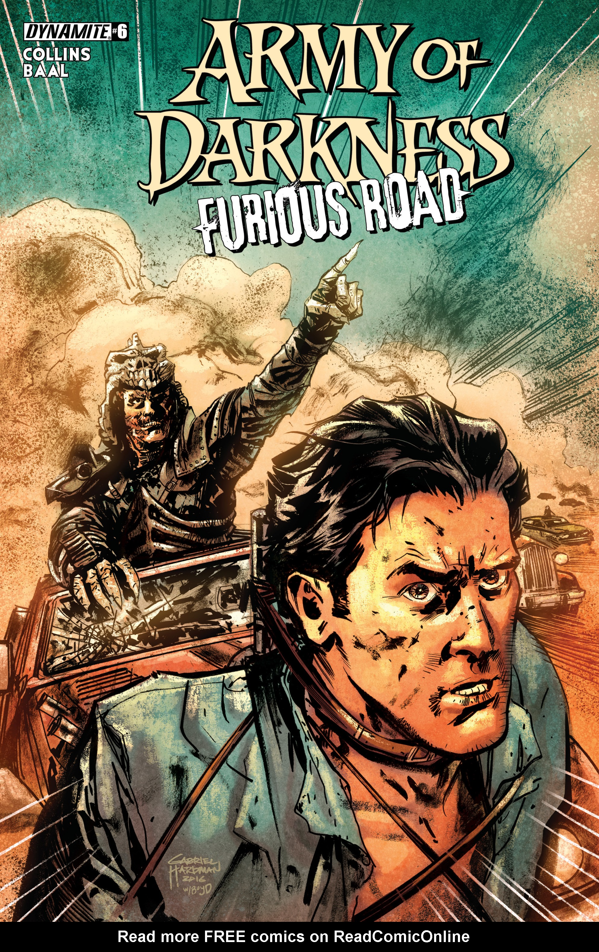 Read online Army of Darkness: Furious Road comic -  Issue #6 - 1