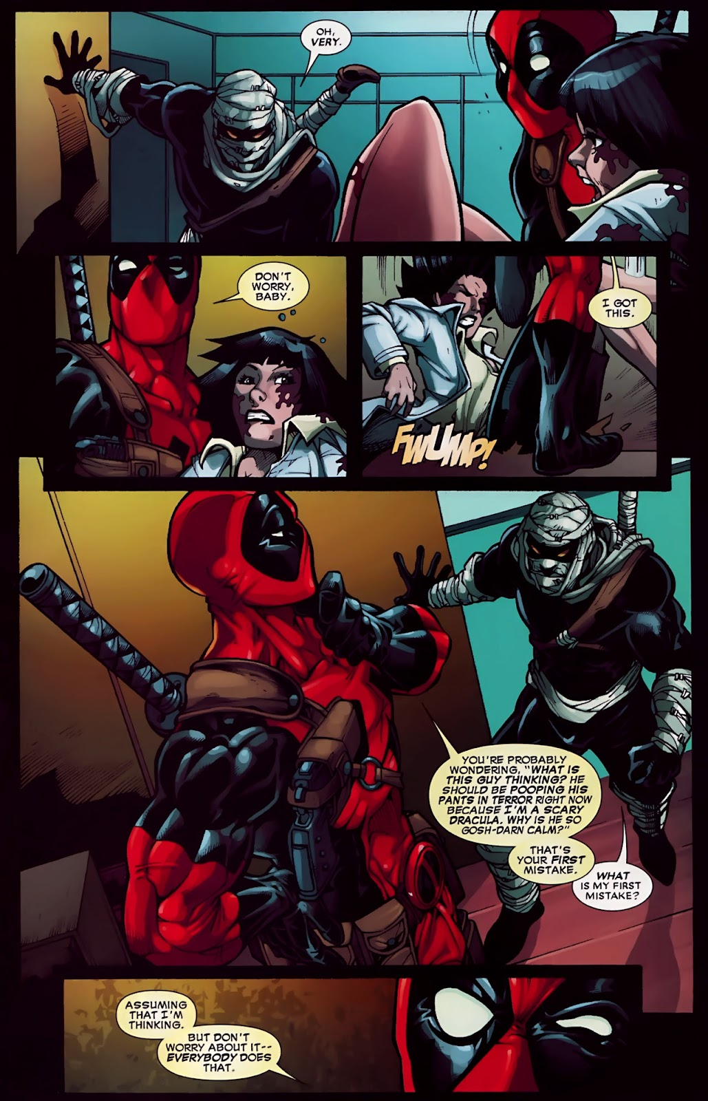 Read online Deadpool (2008) comic -  Issue #30 - 20