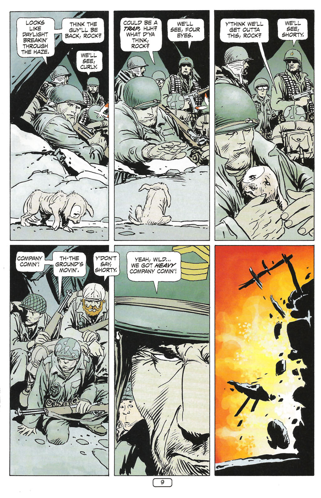 Read online Sgt. Rock: The Prophecy comic -  Issue #1 - 11