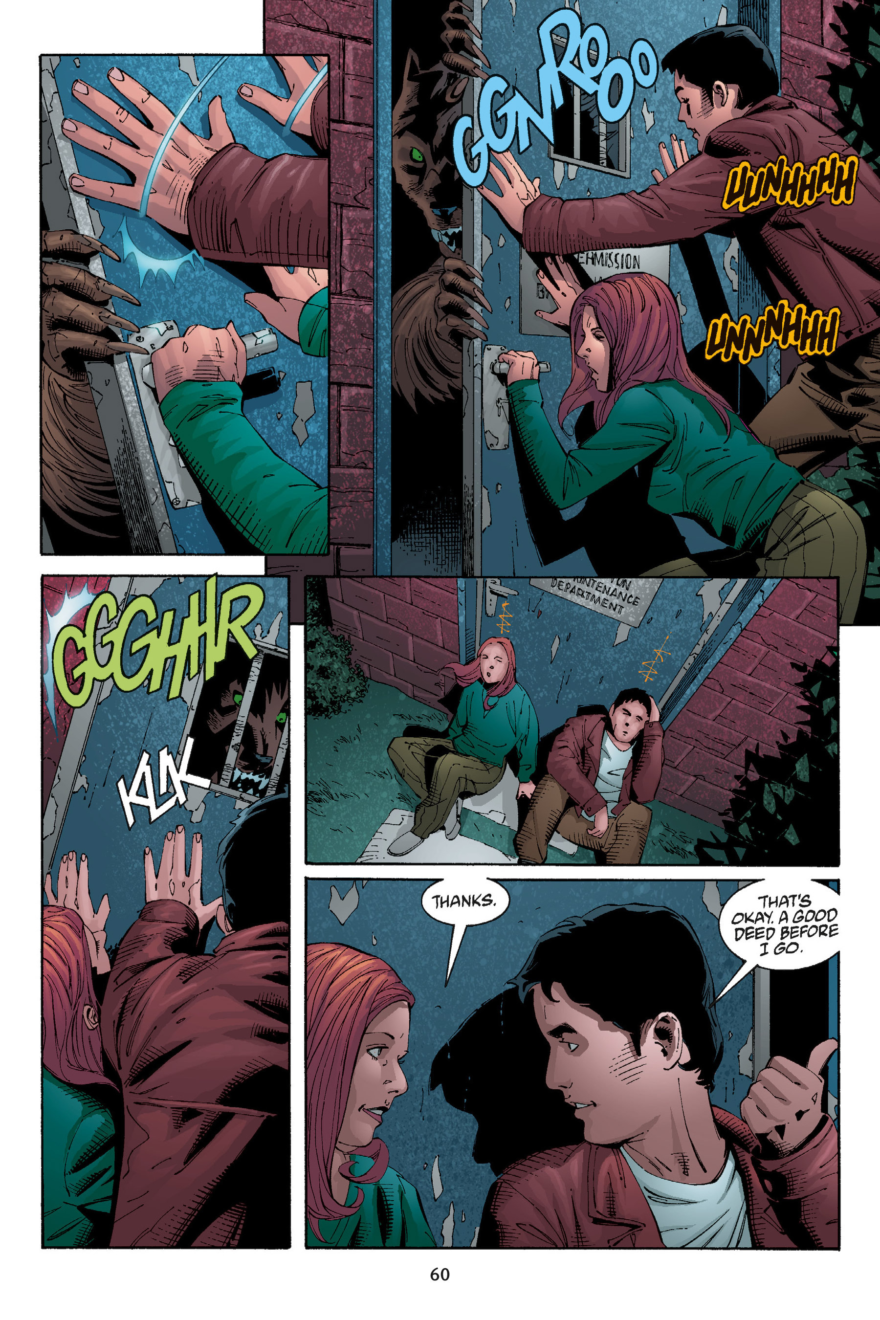 Read online Buffy the Vampire Slayer: Omnibus comic -  Issue # TPB 5 - 61
