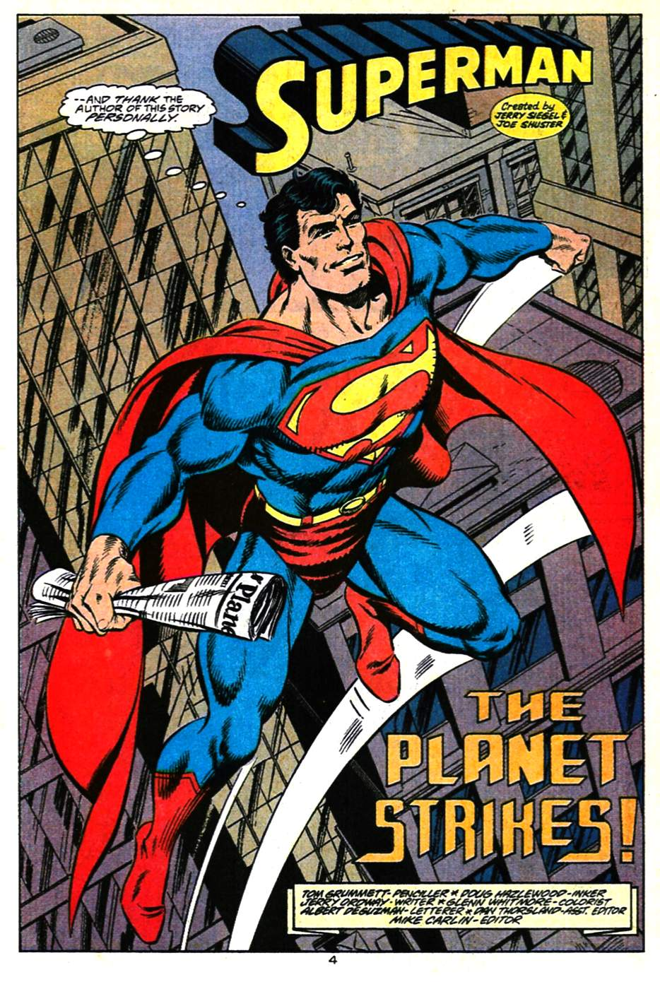 Read online Adventures of Superman (1987) comic -  Issue #482 - 5