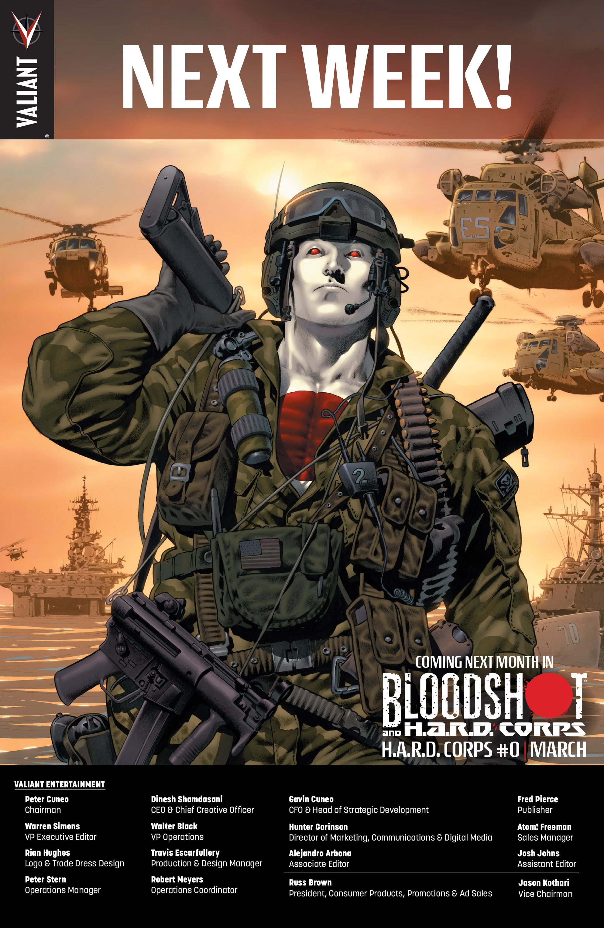 Read online Bloodshot and H.A.R.D.Corps comic -  Issue #19 - 25