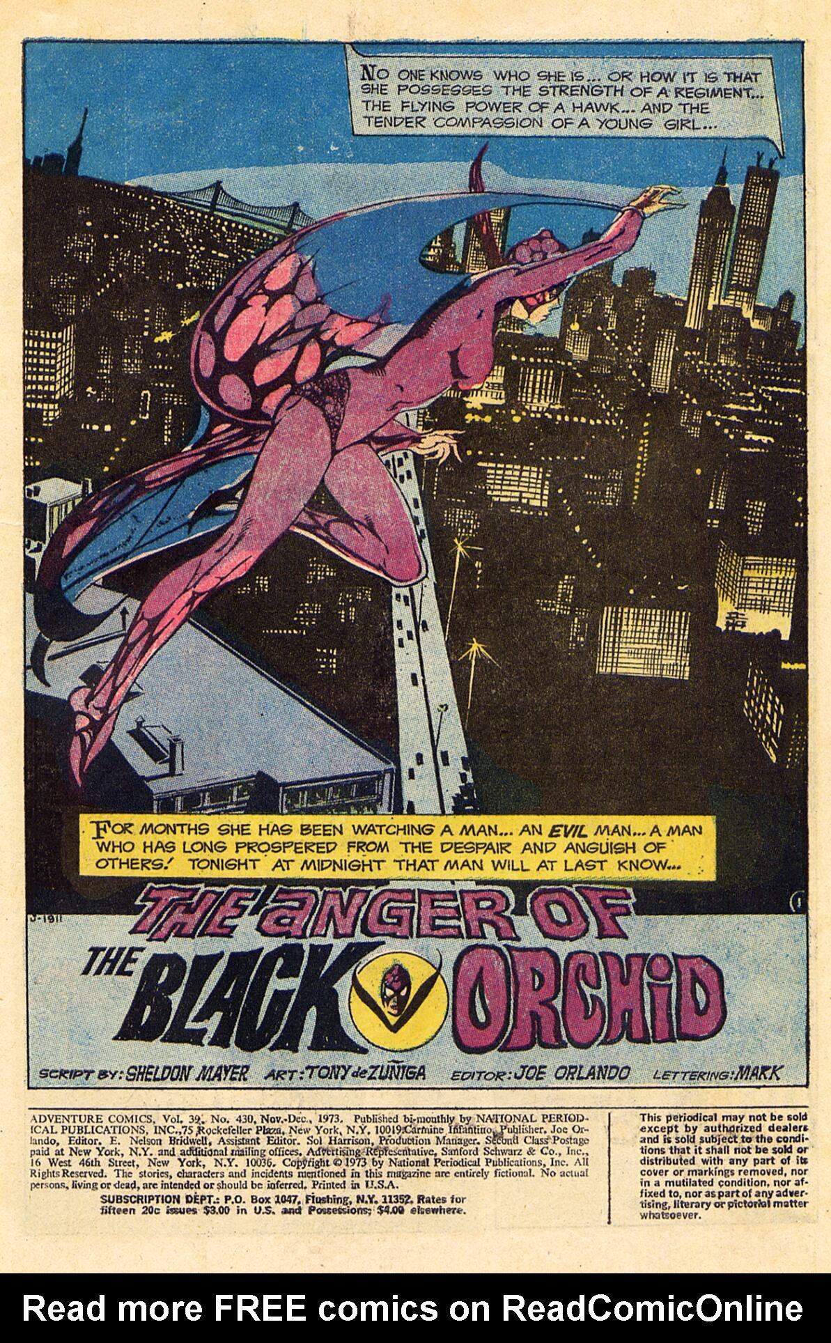 Read online Adventure Comics (1938) comic -  Issue #430 - 3