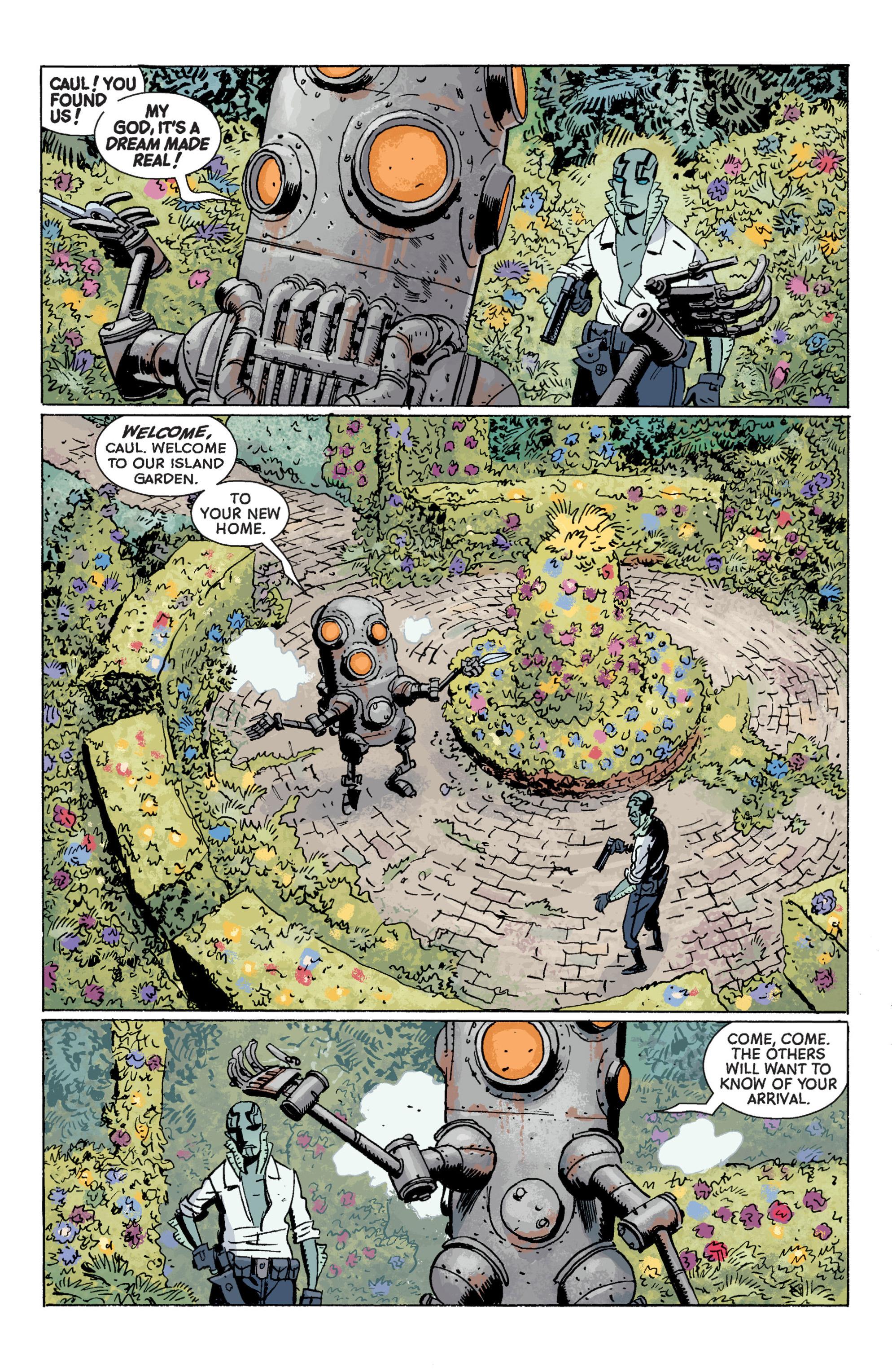 Read online B.P.R.D. (2003) comic -  Issue # TPB 7 - 70