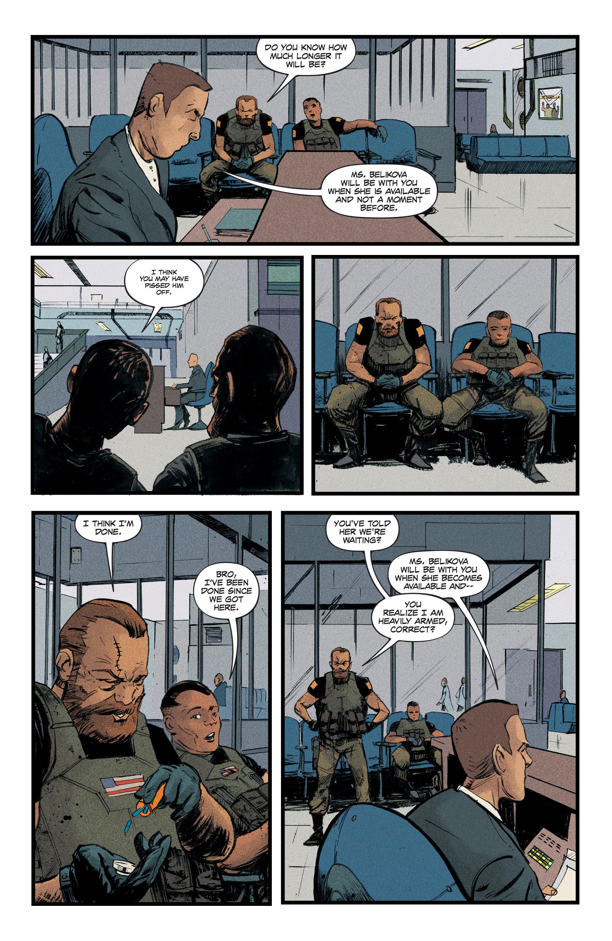 Read online Redline comic -  Issue #3 - 6