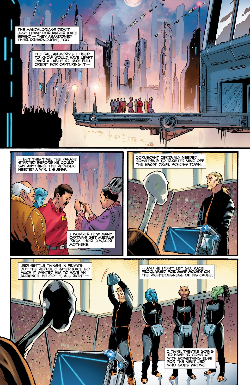 Read online Star Wars Legends: The Old Republic - Epic Collection comic -  Issue # TPB 3 (Part 5) - 14