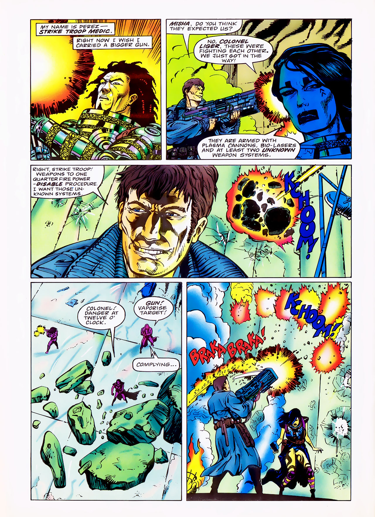Read online Overkill comic -  Issue #7 - 30