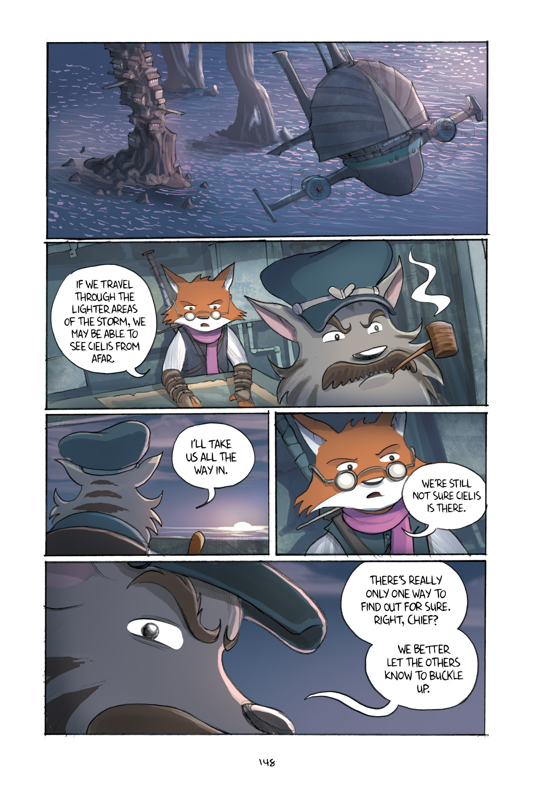 Read online Amulet comic -  Issue #3 - 145