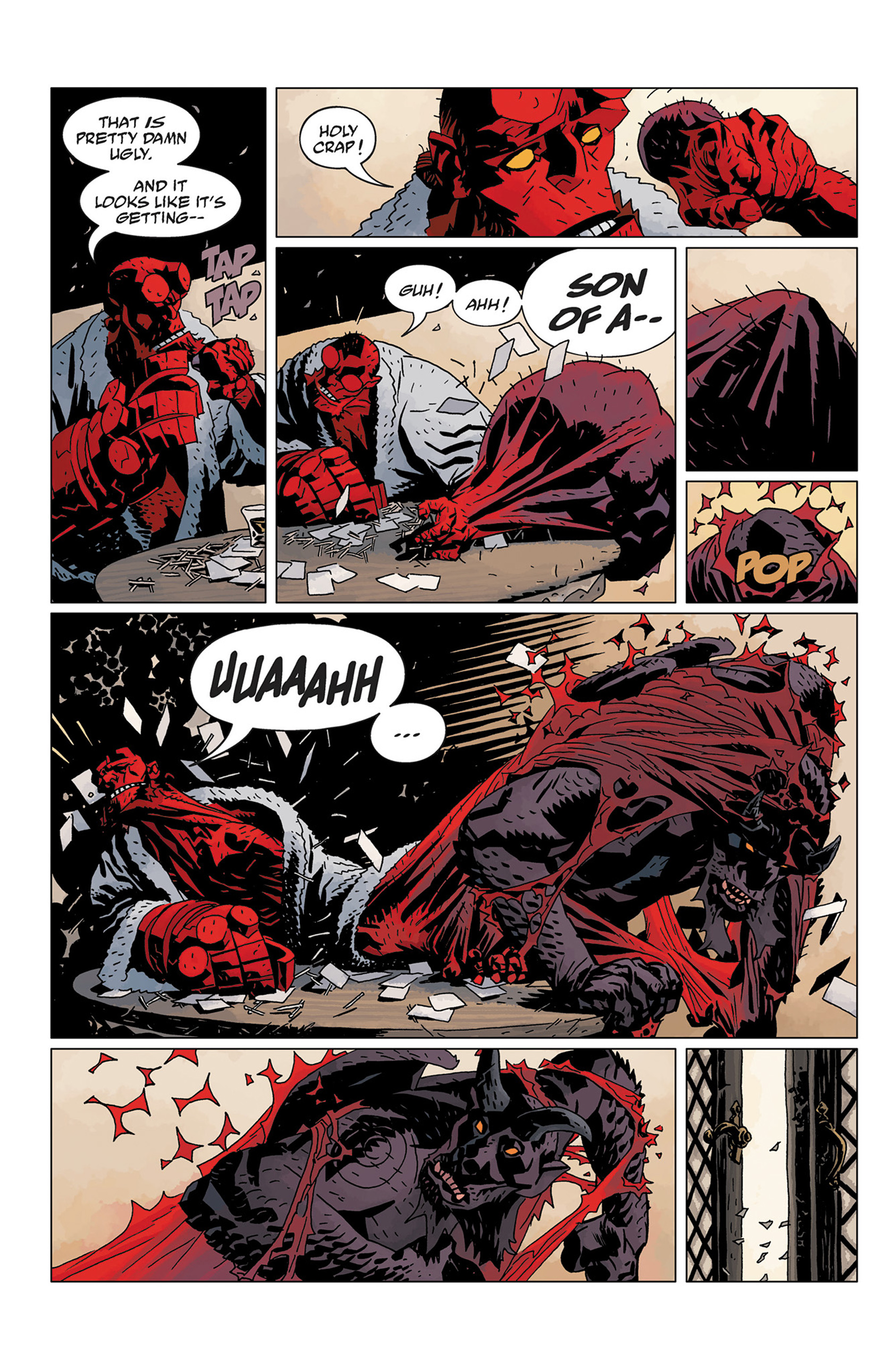 Read online Hellboy: The Crooked Man and Others comic -  Issue # TPB - 138