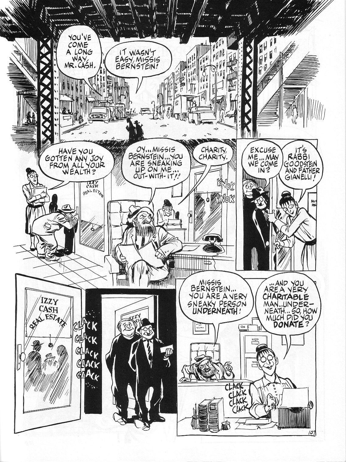 Read online Dropsie Avenue, The Neighborhood comic -  Issue # Full - 109