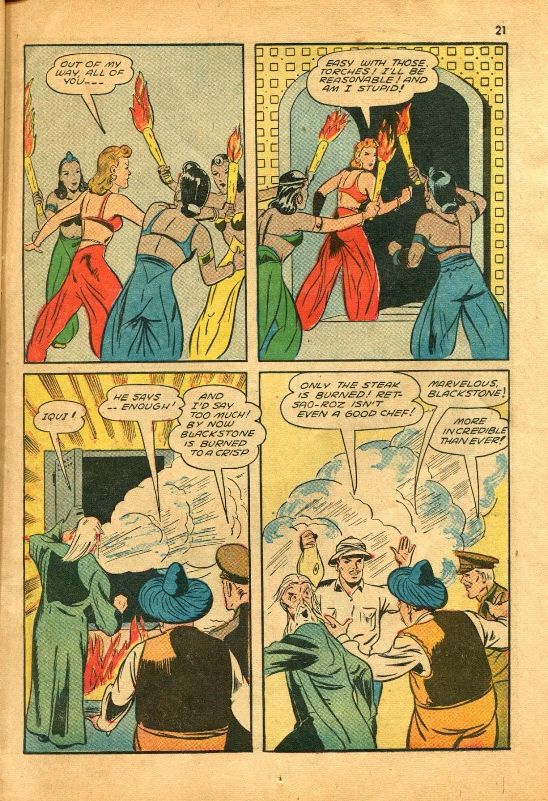 Read online Super-Magician Comics comic -  Issue #11 - 21