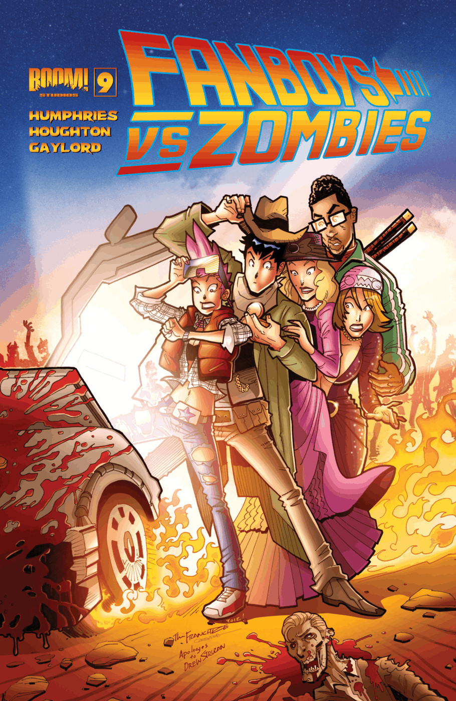 Fanboys vs. Zombies issue 9 - Page 1