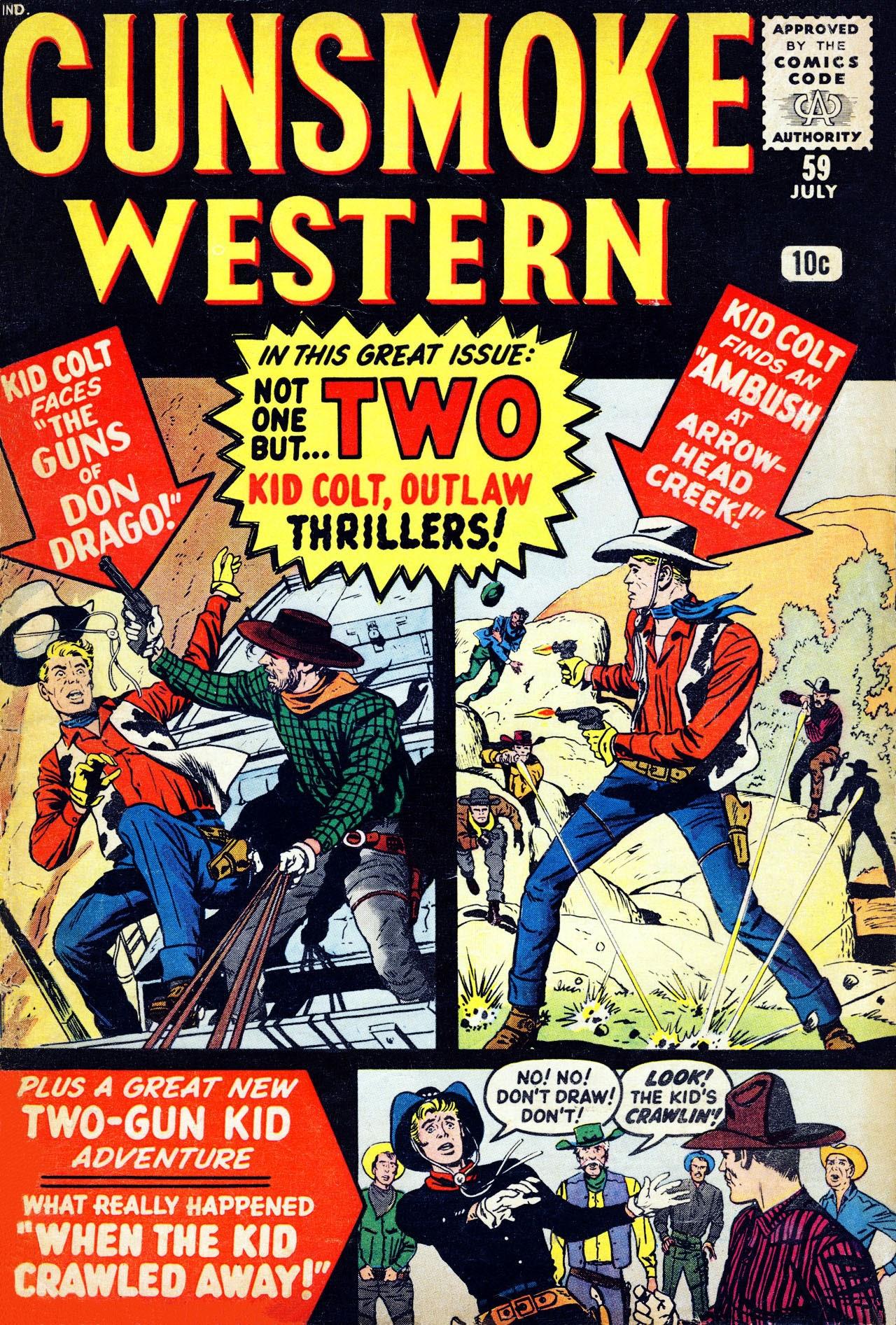 Gunsmoke Western 59 Page 1