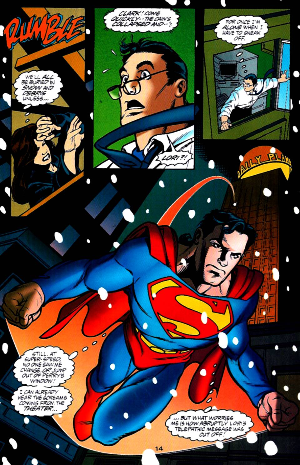 Read online Adventures of Superman (1987) comic -  Issue #540 - 15