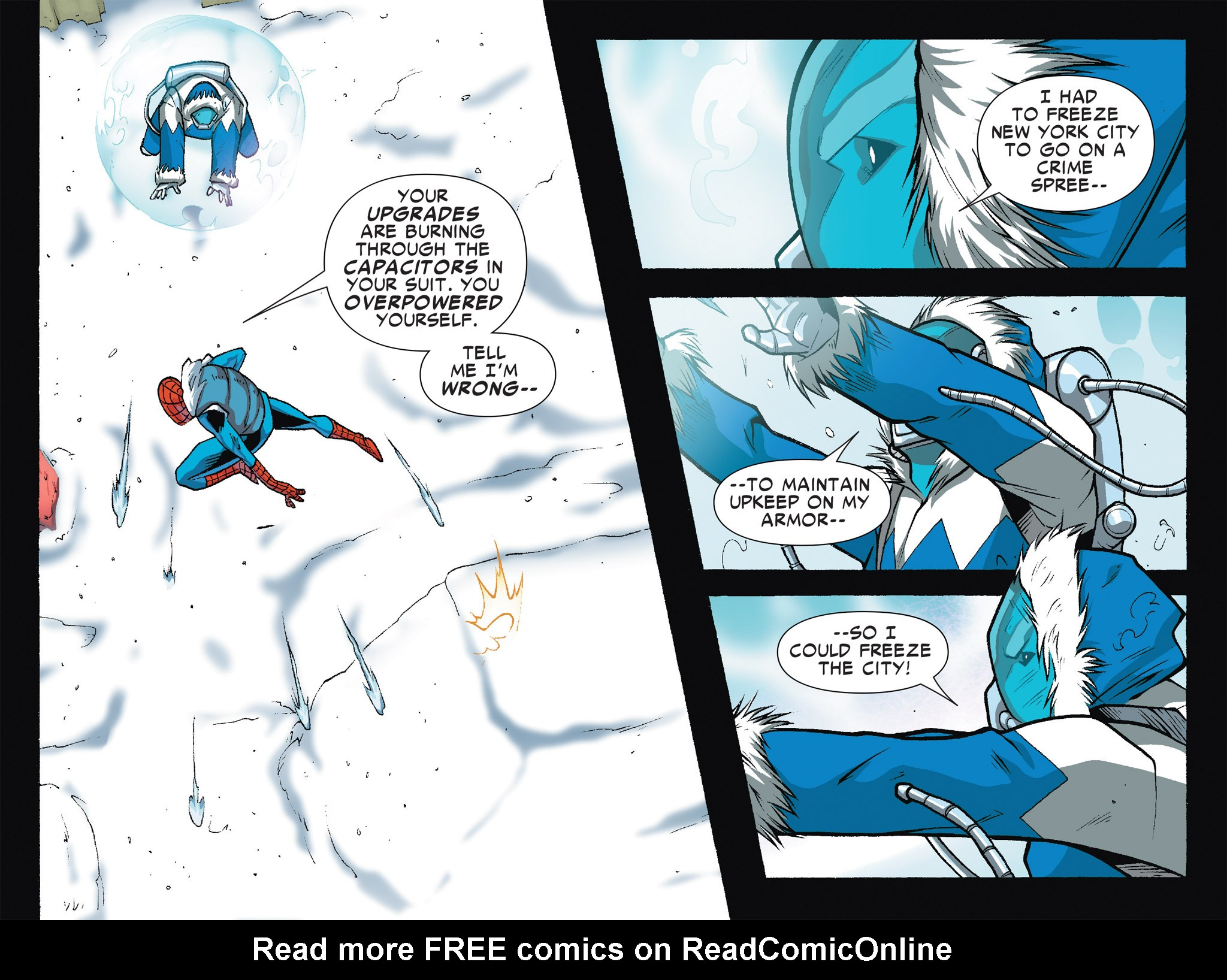 Read online Ultimate Spider-Man (Infinite Comics) (2016) comic -  Issue #7 - 44