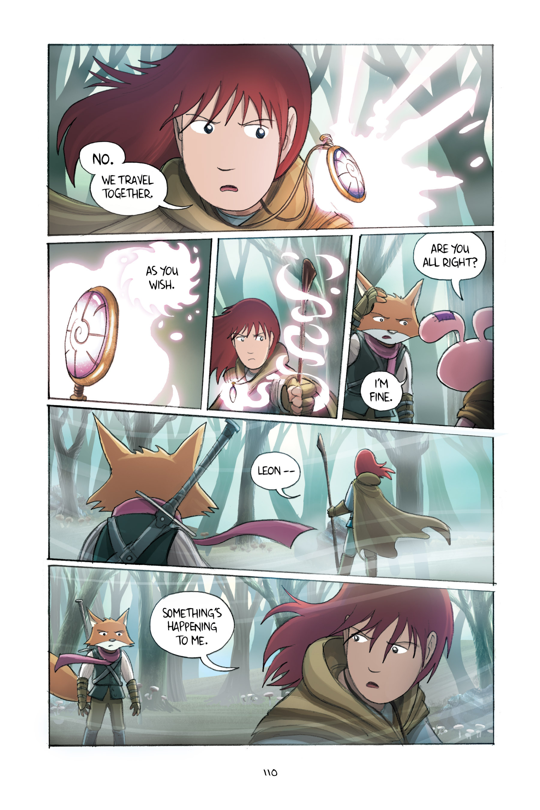 Read online Amulet comic -  Issue #2 - 110