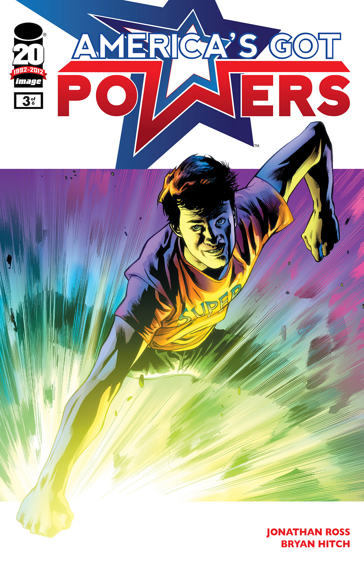 Read online America's Got Powers comic -  Issue #3 - 1