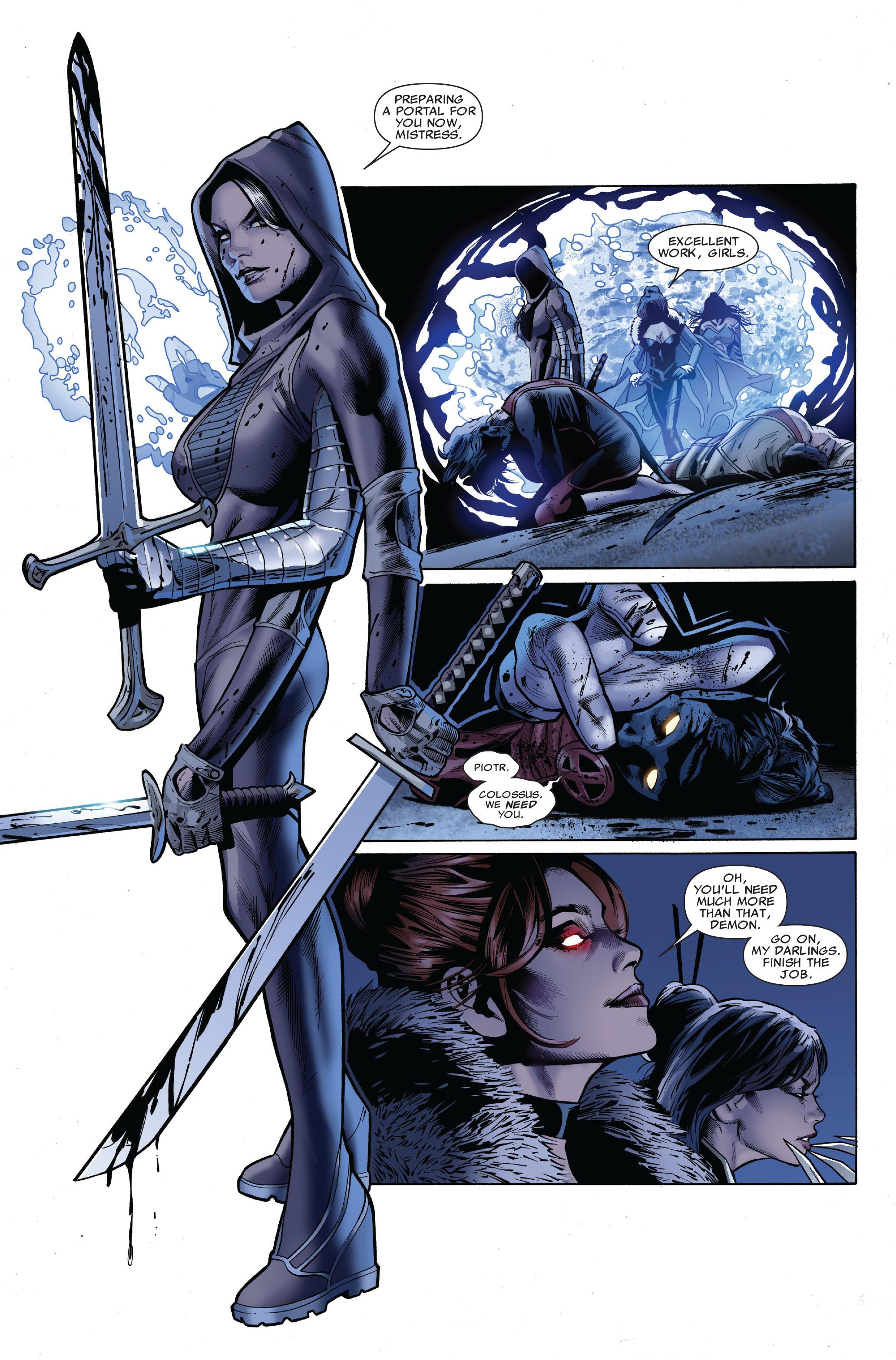 Read online Uncanny X-Men (1963) comic -  Issue #509 - 22