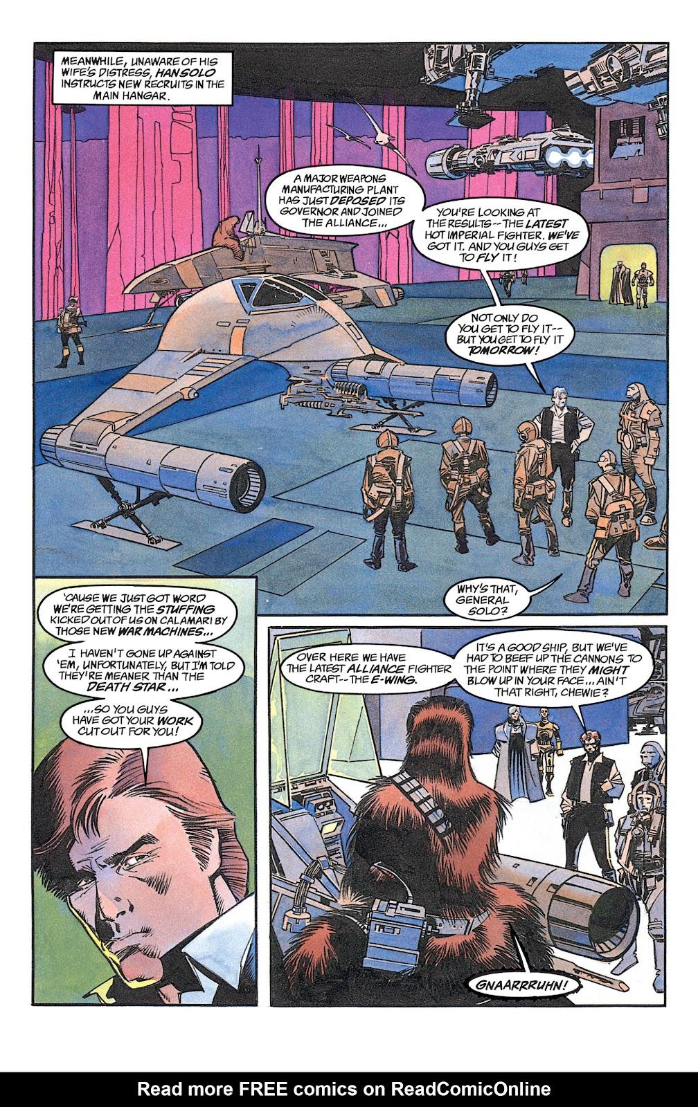 Read online Star Wars: Dark Empire Trilogy comic -  Issue # TPB (Part 1) - 67