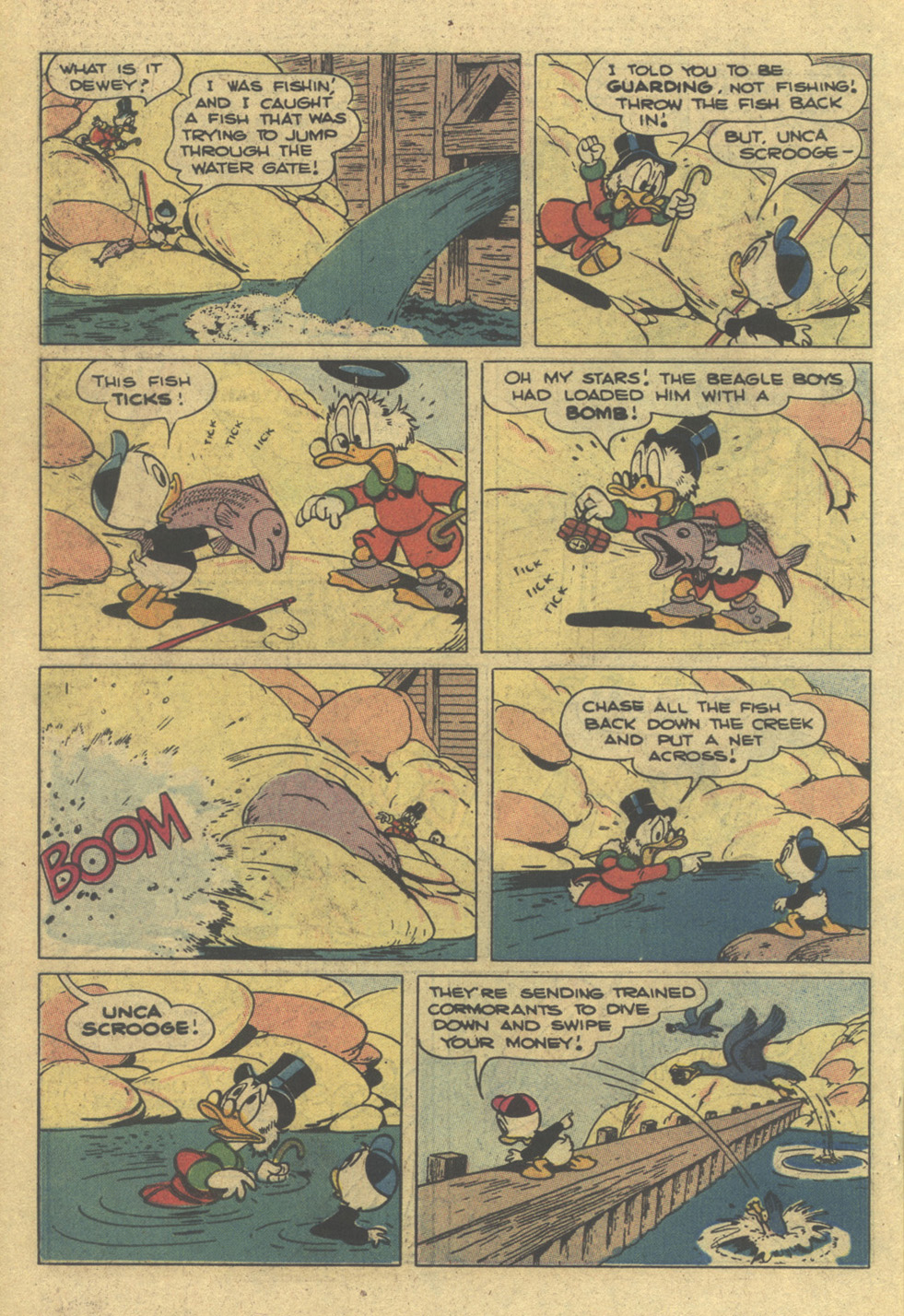 Read online Uncle Scrooge (1953) comic -  Issue #195 - 22