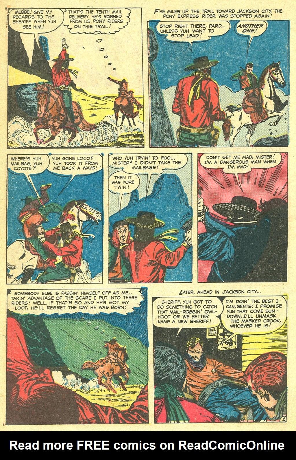 Gunsmoke Western issue 41 - Page 22