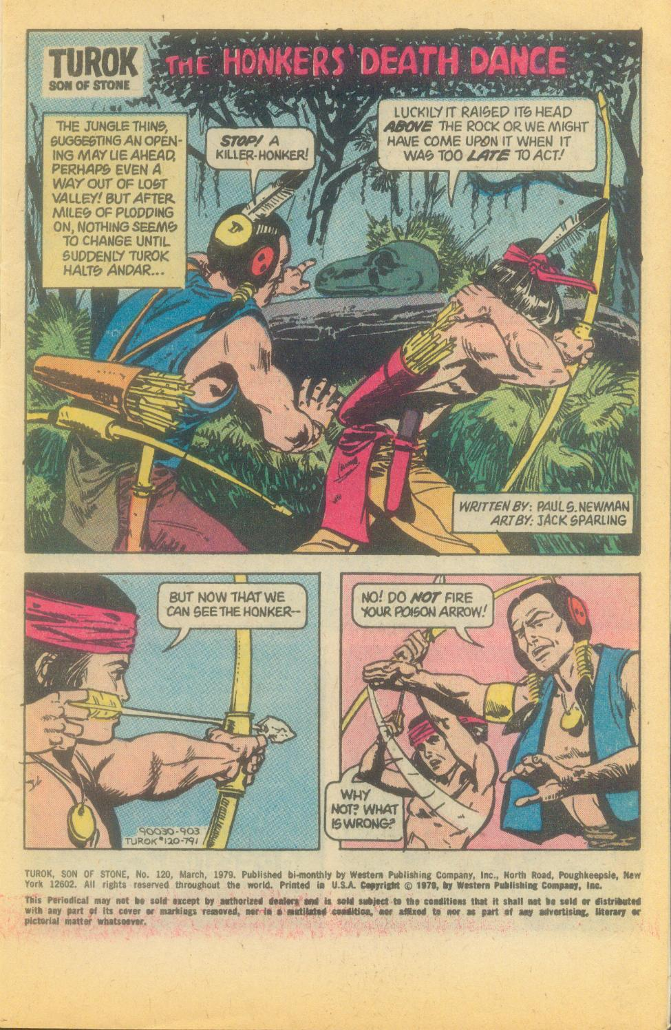 Read online Turok, Son of Stone comic -  Issue #120 - 3