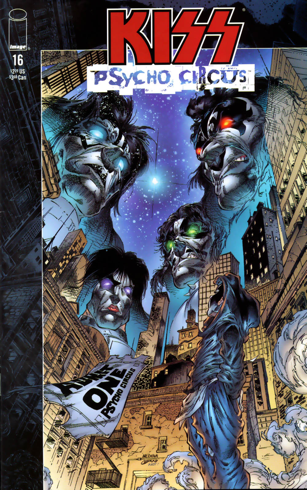 KISS: Psycho Circus issue 16 - Page 1