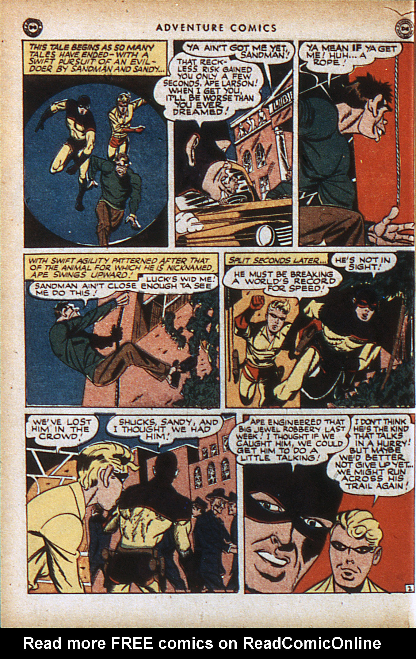 Read online Adventure Comics (1938) comic -  Issue #94 - 5